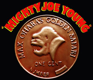 Mighty-Joe-Young-1949-Oversized-Coin-Prop-Replica-Forrest-J-Ackerman-Collection