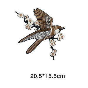 1-Bird-Embroidered-Patches-Iron-on-Sewing-Stripe-for-clothes-applique