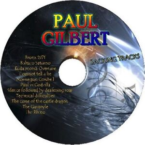 PAUL-GILBERT-GUITAR-BACKING-TRACKS-CD-BEST-GREATEST-HITS-MUSIC-PLAY-ALONG-ROCK