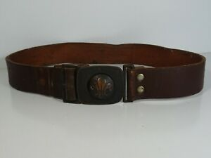 Vintage-Cub-Scouts-Belt-Circa-1960-039-s-Be-Prepared