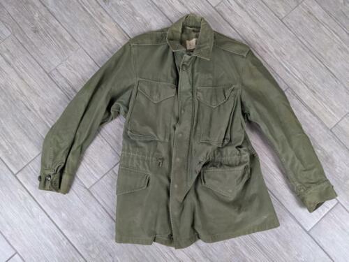 1960s vietnam M51 M65 green OG107 jacket SHORT SMA