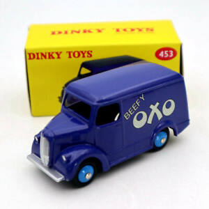 Atlas-Dinky-toys-453-Fourgon-Trojan-15-cwt-VAN-OXO-Diecast-Models-Car-Collection