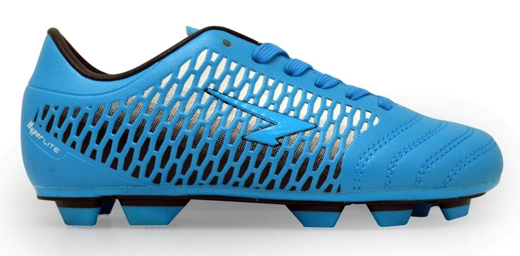 Sfida Premier TPU Outsole Junior Football stivali (blu)