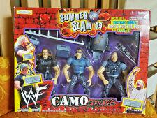 WWE/WWF JAKKS SUMMER SLAM 99 CAMO CARNAGE BOX SET AUSTIN, HHH, BILLY GUNN