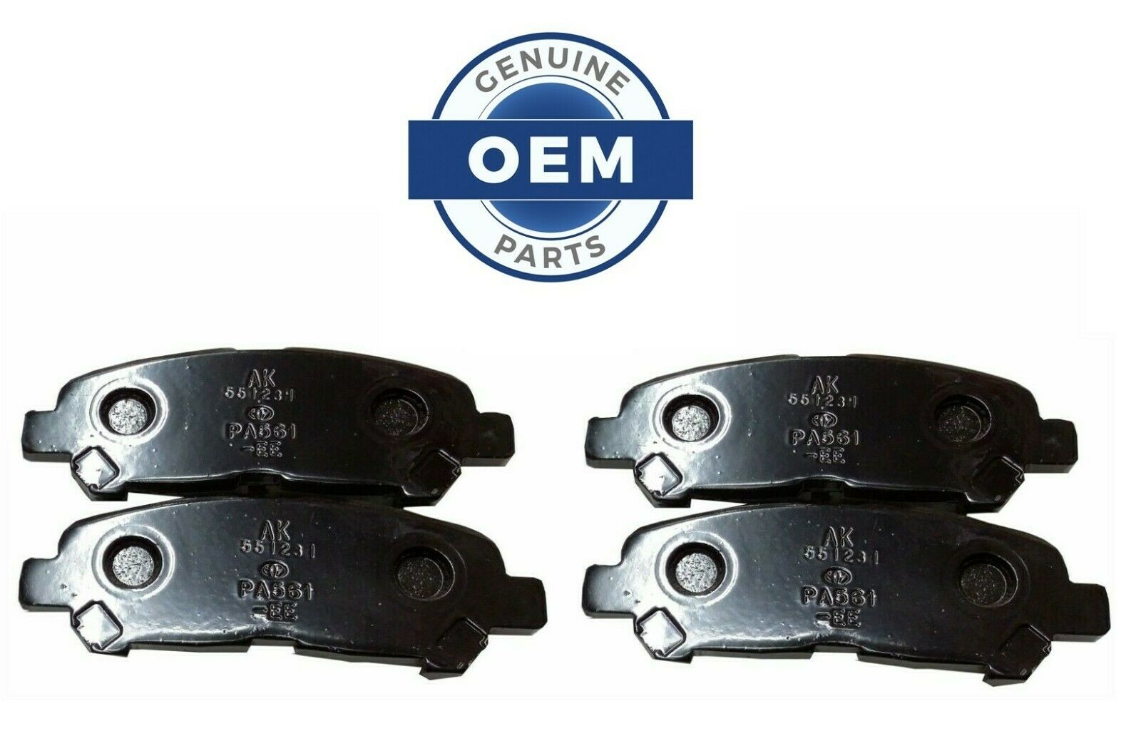 2010-2013 HIGHLANDER  REAR Brake Pads NEW genuine Toyota OEM 04466-0E020