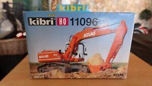 Soigneux Kibri H0 11096 H0 Atlas Crawler Excavator Dans La Douleur