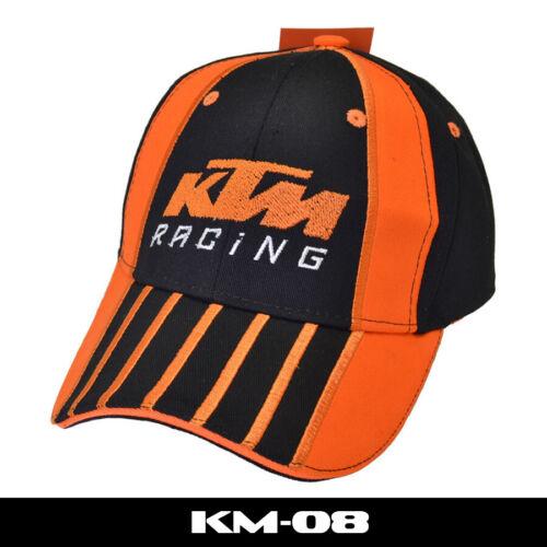 Mens KTM Baseball Cap Racing Motorcycle Snapback Hats Letters Peak Cap Unisex