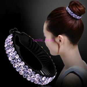 Women-Fashion-Hair-Clip-Crystal-Claw-Ponytail-Bun-Holder-Hair-Comb-Hairpin-Gift