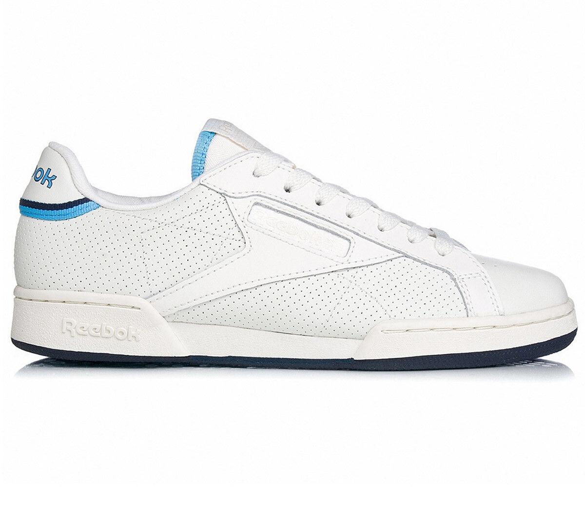 Reebok Classic NPC UK II Schuhe Thof Leder Herren Sneaker Schuhe II Weiß Leder BD2884 f8f4e6
