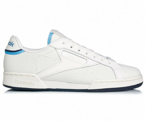 Zapatillas blancas cuero Npc Thof Classic hombre de Uk Reebok Ii Bd2884 para 7wr7qv