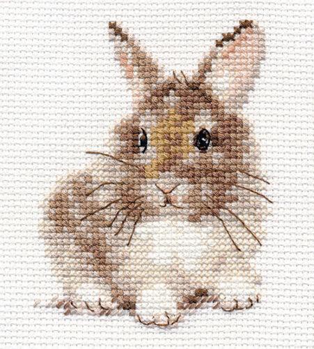 Counted Cross Stitch Kit ALISA RABBIT