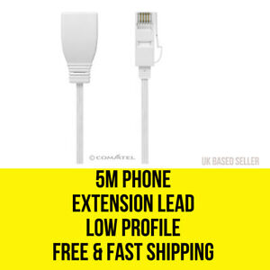 5m-Telephone-Telephone-Extension-Lead-BT-FREE-SHIPPING
