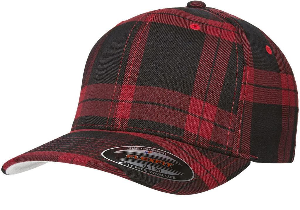 Details about 6195P Flexfit Pinstripe Fitted Baseball Blank Plain Hat  Ballcap Cap Flex Fit