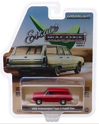 1:64 GreenLight *BLACK BANDIT R20* 1965 Volkswagen VW Type 3 Panel Van *NIP*