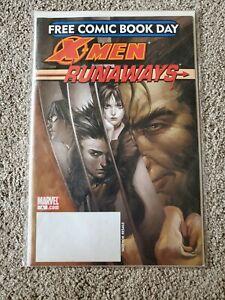 X-MEN-RUNAWAYS-Marvel-Comics-FCBD-Free-Comic-Book-Day-2006