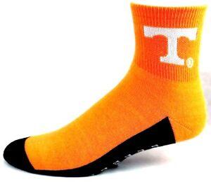 Tennessee-Volunteers-NCAA-Quarter-Non-Skid-Socks-Orange-Black