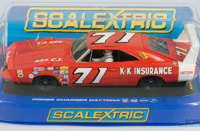 Scalextric C3423 Dodge Ladegerät Daytona Bobby Isaac Schlitz Auto 1 32