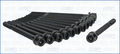 AUDI COUPE 2.2 Cylinder Head Bolts 90 to 96 Set Kit Payen 034103385C Quality New