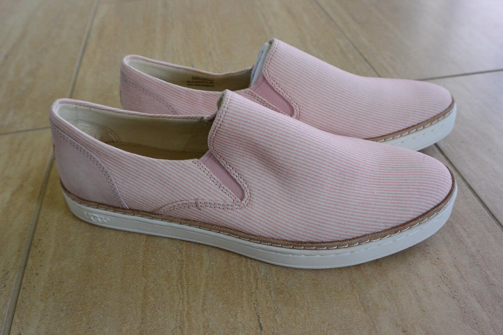 Chaussures à lacets en toile décontractées Adley Stripe pour femme NEW UGG en taille rose pétale, taille 7