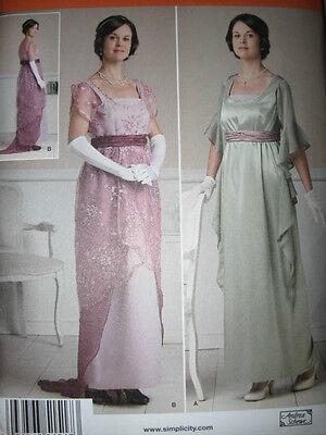 PATTERN Early 20th Century DRESS Titanic / Cigarette Girl 6-12 14-22 STEAMPUNK