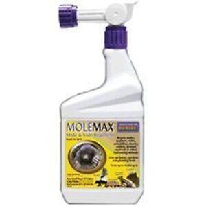 New bonide 690 quart size molemox ready to use hose spray mole repellent spray - New uses for the multifunctional spray ...