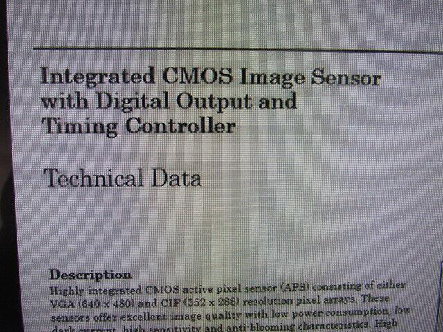5pcs HDCS-2000 640X480 Color PIXEL CMOS AGILENT 44pin QFP NOS Image Sensor