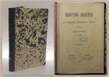Carolus Berg Hemiptera Argentina Enumeravit speciesque novas 1879 Entomologie