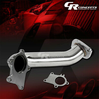 """Rev9 2pc 2.5-3/"""" Downpipe Down Pipe *5 bolt Turbo* for RSX 02-06 Civic 06-11 K20"""