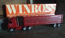 Vintage Die Cast Winross Collectible Advertising Tractor - Trailers , Friends PA