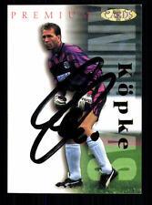 Andreas Köpke Eintracht Frankfurt Panini Card 1995-96 Original Signiert +A99144