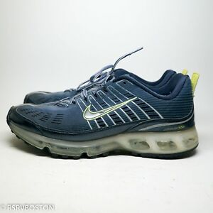 free shipping ee202 76c9e Image is loading Nike-Air-Max-360-Med-Denim-Blue-Deep-