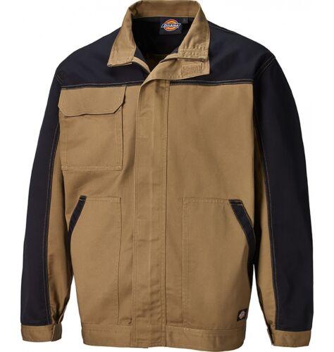 Dickies Everyday Work Jacket Khaki /& Black Men/'s Coat Sizes XS-XXXXL