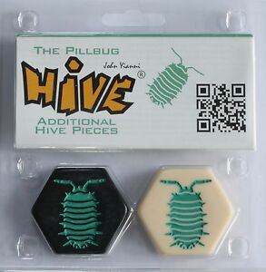 Hive-Standard-Size-The-Pillbug-Expansion-Adds-2-Pieces-Gen-42-Tile-Game-TLC-015