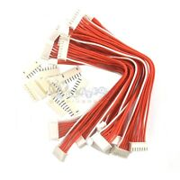 10pcs 6s1p Lipo Battery Balance Charger Connector Adapter Plug Cable Wire