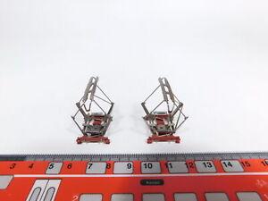 CS635-0,5# 2x Märklin H0 7218/Typ 8 Stromabnehmer/STA für E-Lok, sehr gut