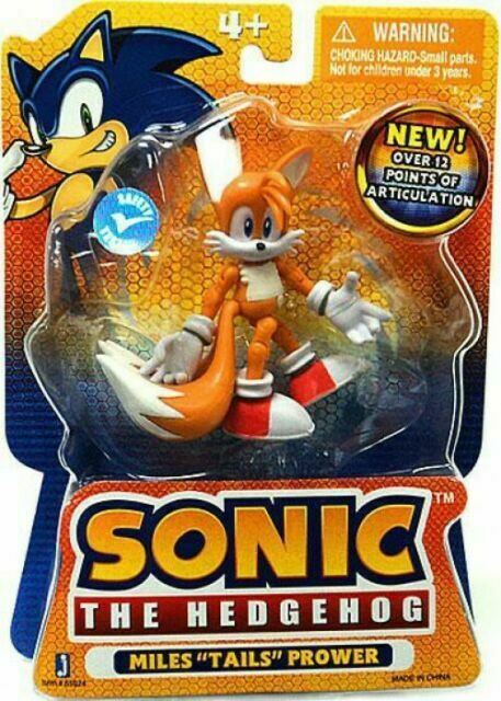 Jazwares Sonic Hedgehog Miles Tails Prower Action Figure For Sale Online Ebay