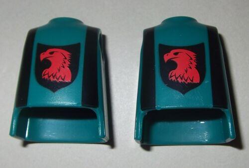 Ritter Kämpfer 2x Körper Landsknecht 08458 blaugrün Krieger