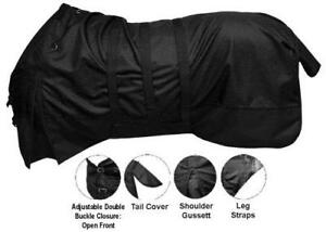 SHOWMAN-1200-Denier-Waterproof-amp-Breathable-BELLY-WRAP-Turnout-Horse-Blanket