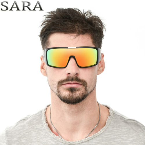 New Windproof Large Oversized Sunglasses Outdoor Sport Cycling Bike Goggles 6
