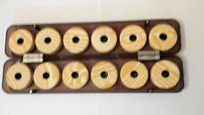 Rig winder storage box with 12 rig winders
