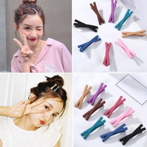 Fashion Matte Hairpins Hair Clip Barrettes Hair Accessories Candy Color Hair Pin