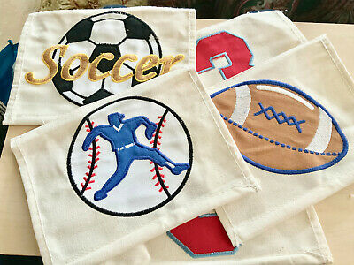 PatchMommy Soccer Ball Football Sports Iron On Patch Appliques For Kids Children