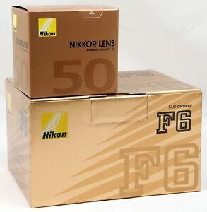 BNIB-Nikon-F6-Pro-AF-35mm-SLR-Film-Camera-c-w-AF-50mm-f-1-4D-Lens-Kit