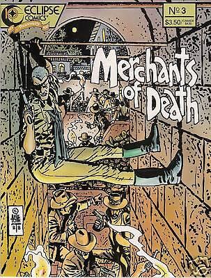 MERCHANTS OF DEATH #1-4 Complete Mini Eclipse Comics Western Kurt Busiek 1988 NM
