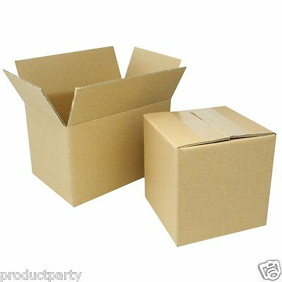 Lot of 125 4x6x8 small boxes for shipping Boxes are high quality cardboard boxes