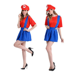 image is loading adult lady skirt super mario luigi bros fancy