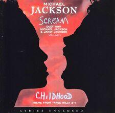 cd-single, Michael Jackson - Scream, 5 Tracks