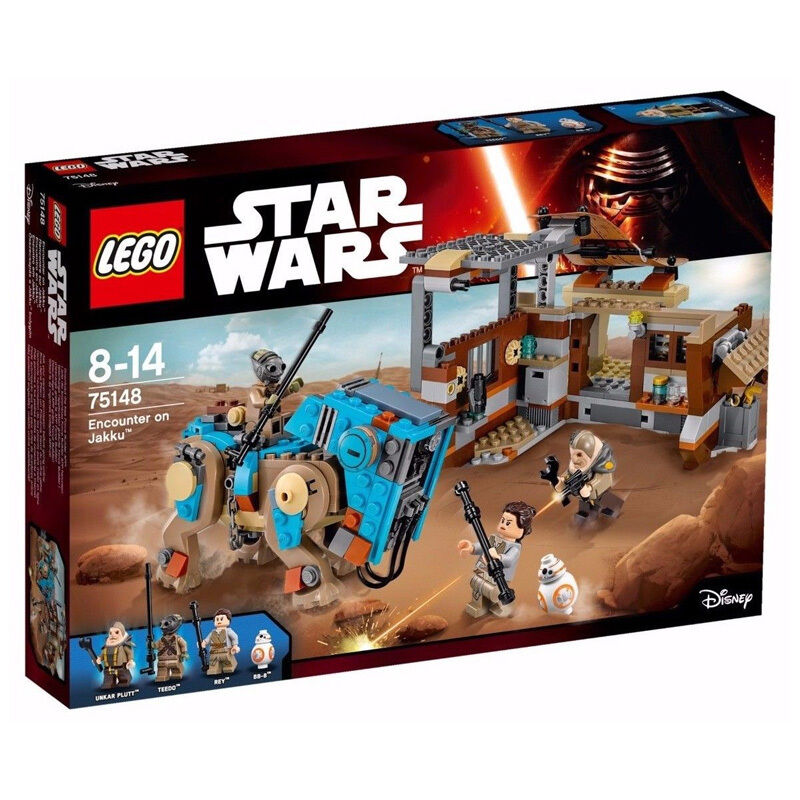 LEGO STAR WARS 75148 Encounter Encounter Encounter on Jakku   Brand New Sealed f10030