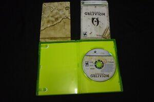 The Elder Scrolls IV: Oblivion COMPLETE - Microsof Xbox 360 - w/ Map & Manual
