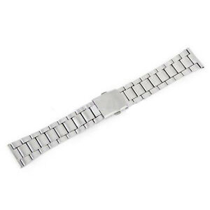 Men-039-s-Stainless-Steel-Solid-Links-Watch-Band-Strap-Bracelet-Fashion-18-20-Dzco